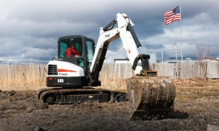 BOBCAT E42 MINI EXCAVATOR RENTAL