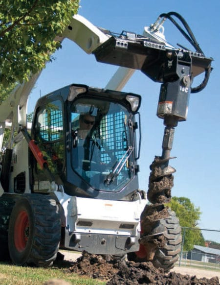 Skid Steer Auger Attachments