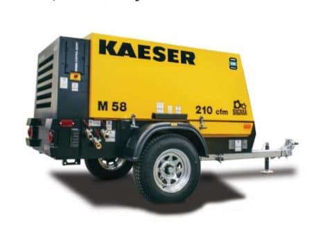 210cfm air compressor